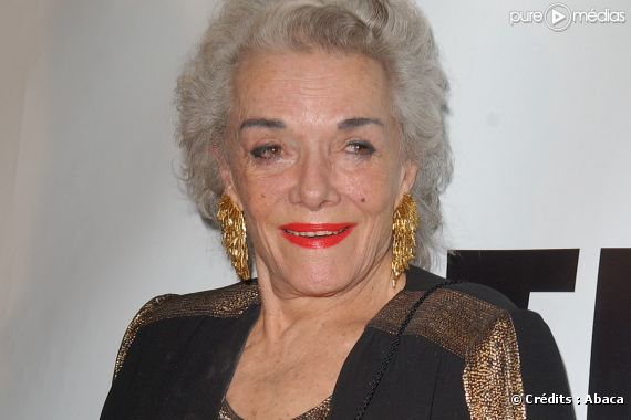 Jane Russell, en octobre 2007