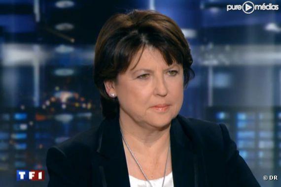 Martine Aubry, le 28 février 2011