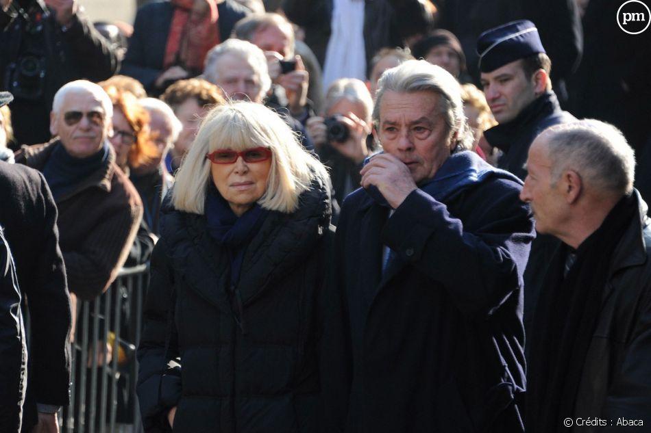 Les obsèques d'Annie Girardot le 4 mars 2011 à Paris.