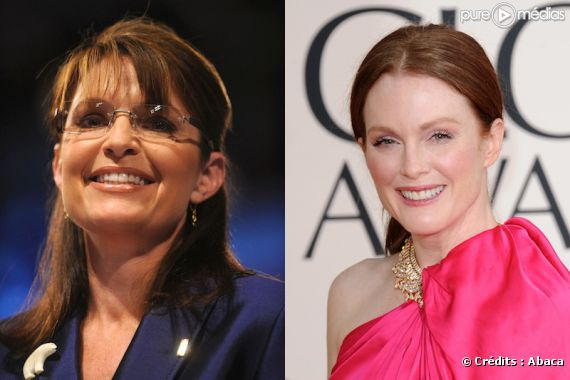 Sarah Palin et Julianne Moore