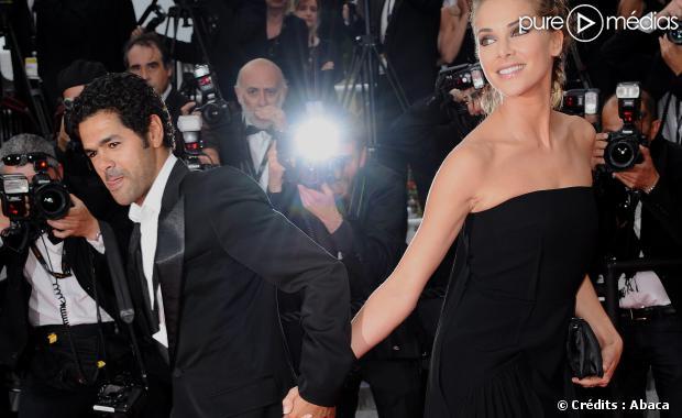 Jamel Debbouze et Mélissa Theuriau, son épouse.