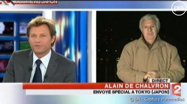 Alain de Chalvron, le 13 mars 2011 au JT de France 2