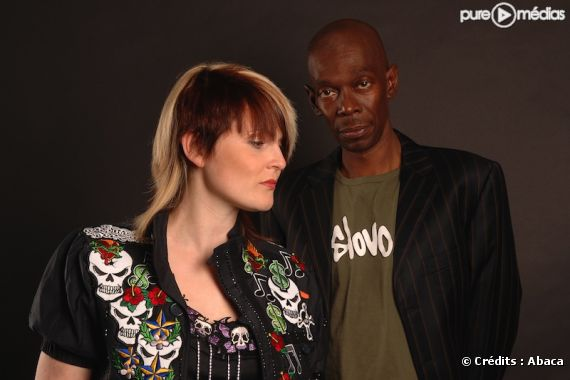 Sister Bliss et Maxi Jazz du groupe Faithless