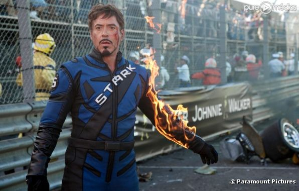 "Robert Downey, Jr. dans ""Iron Man 2"""