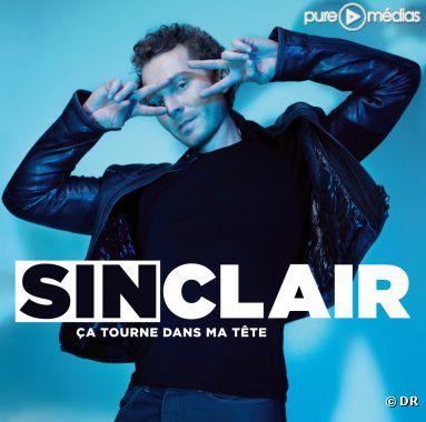 """La pochette du single """"Ca tourne dans ma tête"""" de Sinclair"""