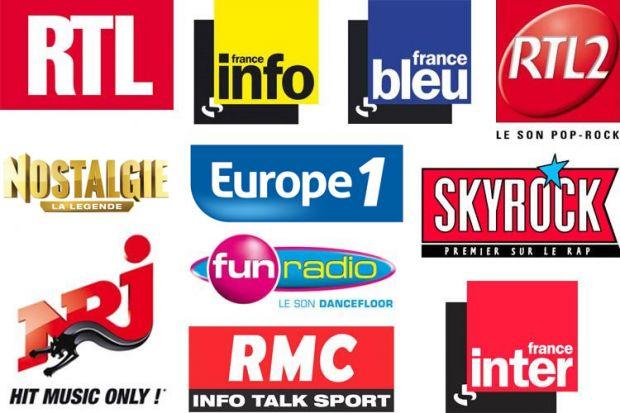Logos des radios