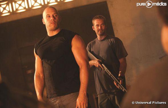 "Vin Diesel et Paul Walker dans ""Fast & Furious 5"""