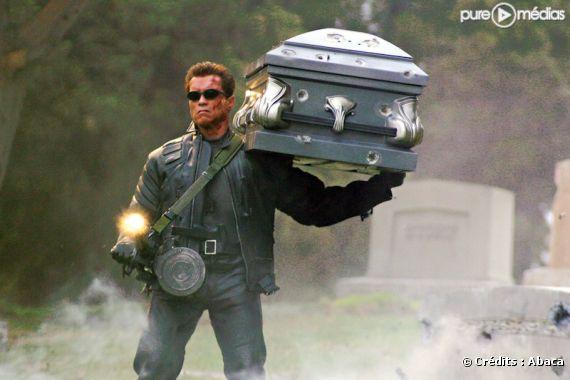 """Arnold Schwarzenegger dans """"Terminator 3 : Le soulèvement des machines"""""""