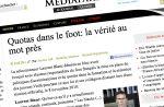 """Affaire des quotas : la FFF connaît """"la taupe"""""""
