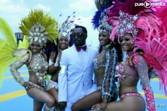 "Le clip ""Don't Stop the Party"" des Black Eyed Peas"