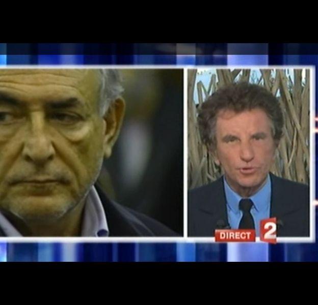 Jack Lang, le 16 avril 2011 sur France 2