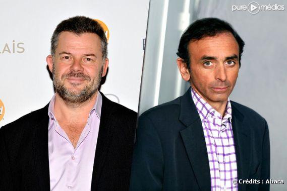 Eric Naulleau et Eric Zemmour