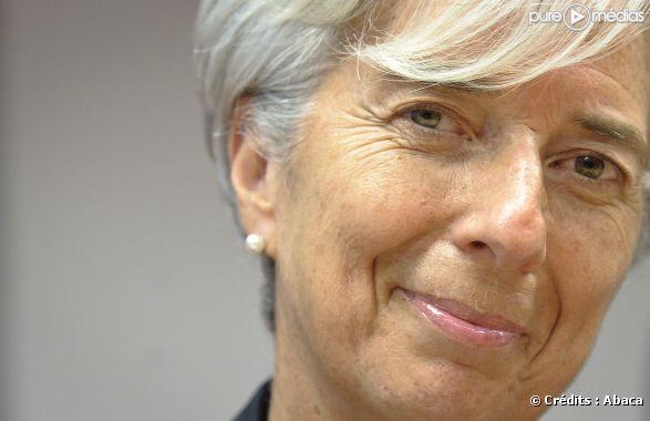 Christine Lagarde lors d'une réunion de l'Eurogroupe à Bruxelles, en mai 2011