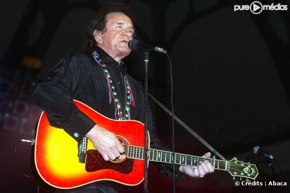 Johnny Cash, avril 1991