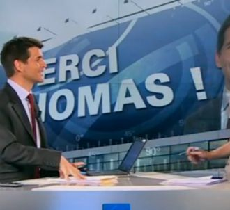 Thomas Sotto, le 14 juillet 2011.