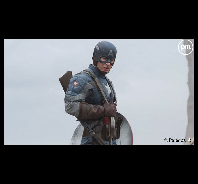 "Chris Evans dans ""Captain America"""