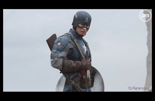 """Chris Evans dans """"Captain America"""""""