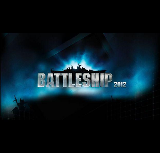 """Une affiche teaser du film américain """"Battleship""""."""