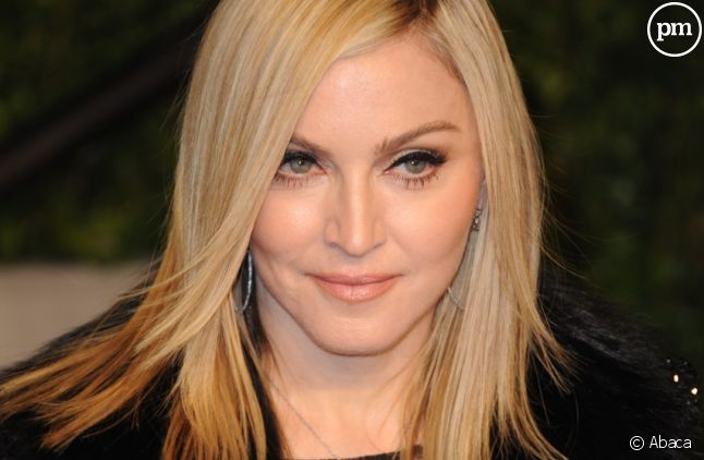 Madonna à la soirée Vanity Fair organisée en marge des Oscars en février 2011