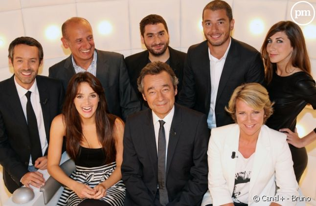 "L'équipe du ""Grand Journal"" saison 2010-2011"