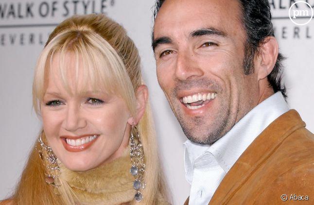 Francesco Quinn et sa femme