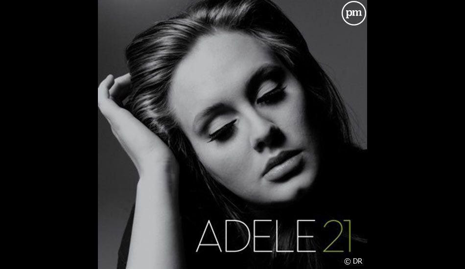 1. Adele - 21 / 76.000 ventes (-8%)