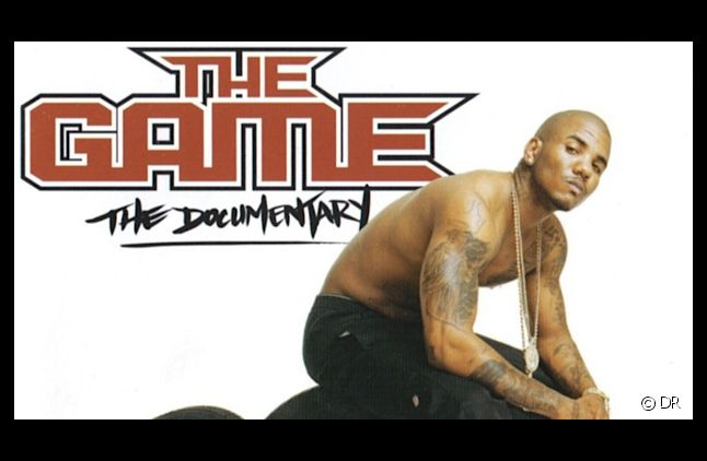 "<div>The Game sur la pochette de l'album ""The Documentary""</div>"