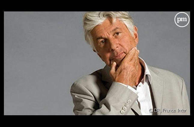 """Bernard Lenoir, animateur de """"C'est Lenoir"""" sur France Inter."""