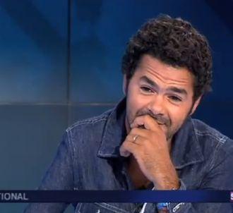 Jamel Debbouze est très enthousiaste après la victoire de...