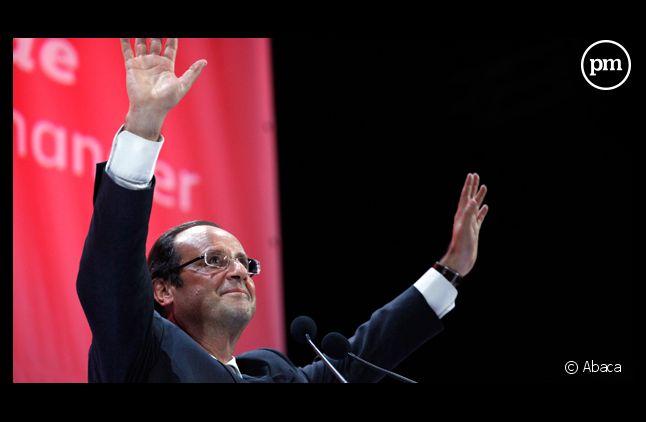 François Hollande, grand favori des sondages à la primaire socialiste.