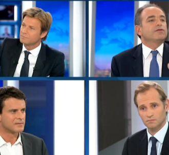 Jean-François Copé au 20 heures de France 2 le 16 octobre...