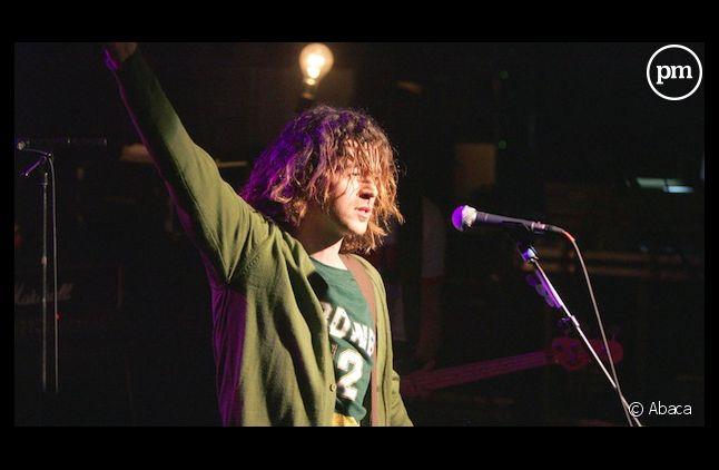 Steeve Estatof, en concert en 2004