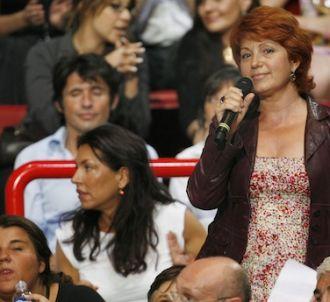 Véronique Genest lors d'un meeting de Nicolas Sarkozy, le...