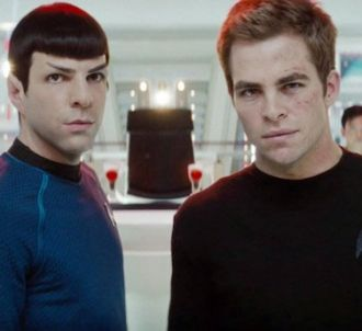 Zachary Quinto et Chris Pine dans 'Star Trek'