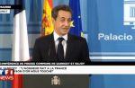 Zapping : Nicolas Sarkozy recadre à trois reprises un journaliste
