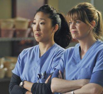 Sandra Oh et Ellen Pompeo dans 'Grey's Anatomy'