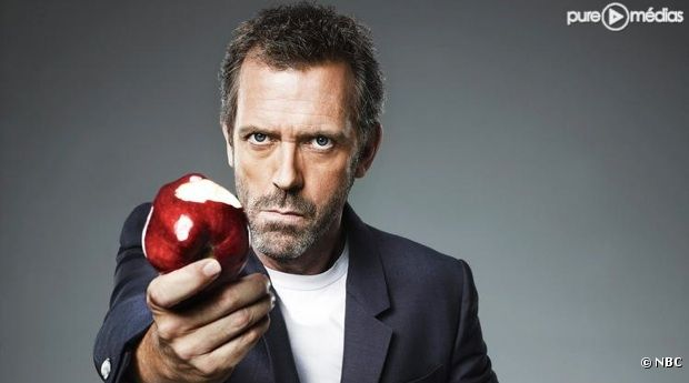 "Hugh Laurie est le ""Dr House"""