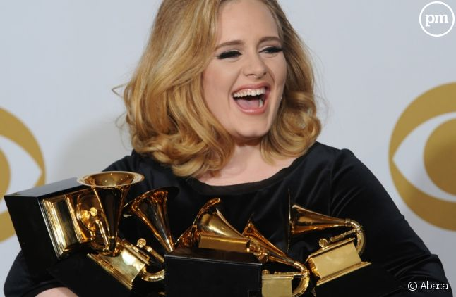 Adele aux Grammy Awards 2012