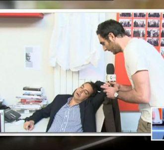 Patrick Cohen, dans 'C à vous' sur France 5.