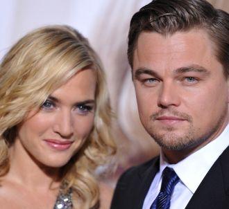 Kate Winslet et Leonardo DiCaprio en 2010