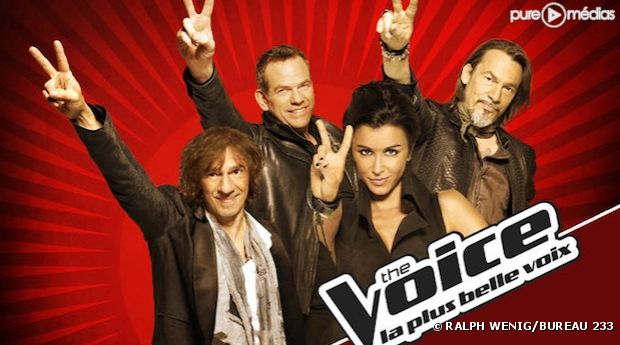 "Les coachs de ""The Voice, la plus belle voix"""