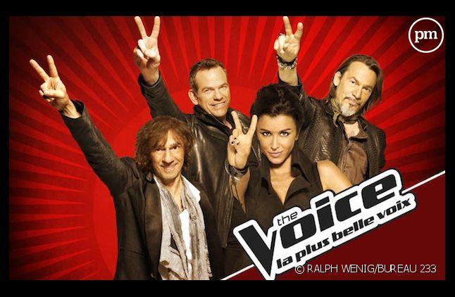 """Les coachs de """"The Voice, la plus belle voix"""""""