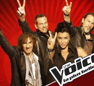 Les coachs de 'The Voice, la plus belle voix'