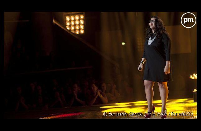 """Amalya sur le plateau de """"The Voice, la plus belle voix"""" sur TF1"""