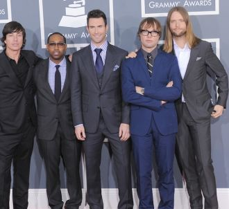 Maroon 5 aux Grammy Awards 2012