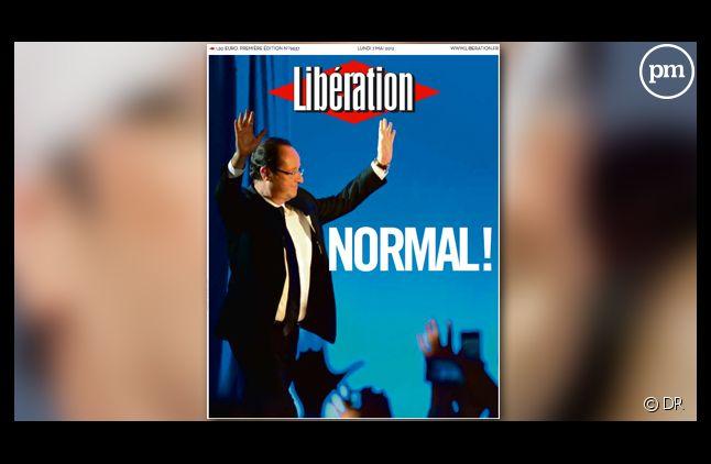 La Une de Libération le 7 mai 2012.