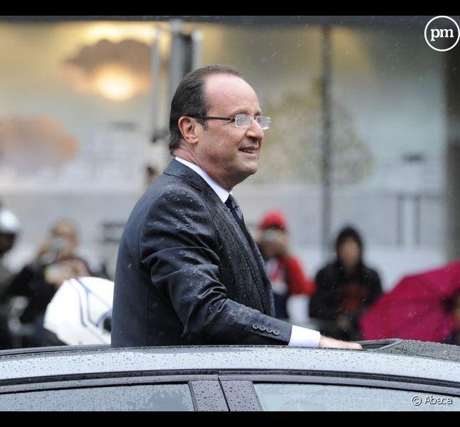 François Hollande, le 15 mai 2012
