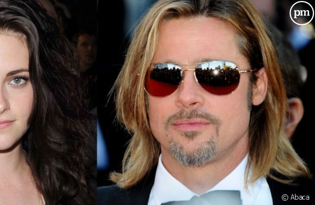 Kristen Stewart et Brad Pitt