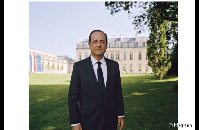 La photo officielle de François Hollande.