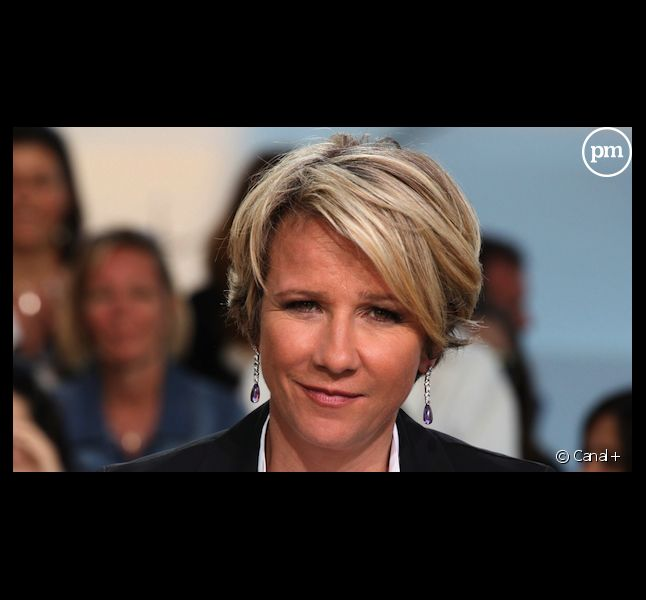 "Ariane Massenet dans ""Le Grand Journal"" de Canal+"